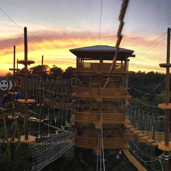 Corolla Adventure Park sunset