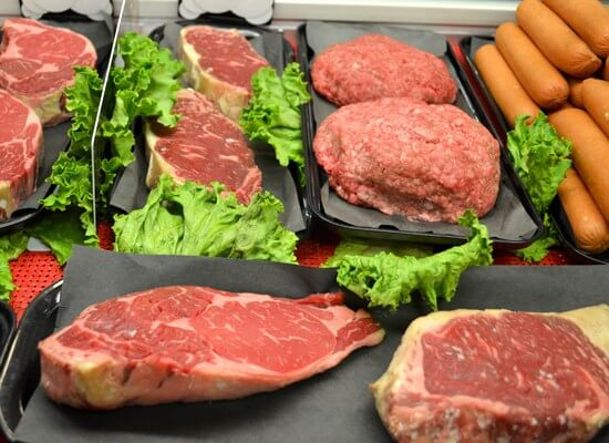 OBX VACATION FUN GUIDE - Meat counter at Tommy's Market