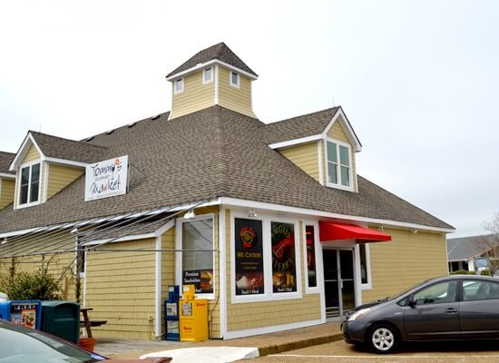 OBX VACATION FUN GUIDE - Exterior photo of Tommy's Market
