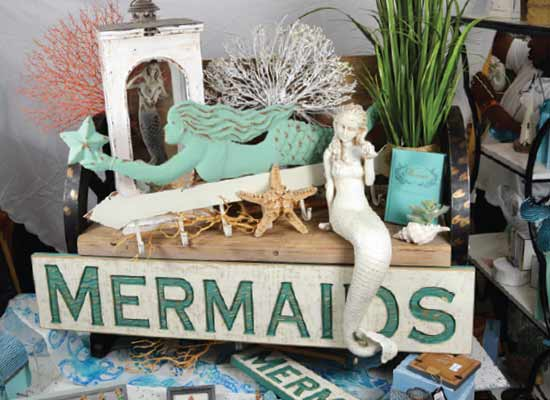 The Cottage Shop mermaid collection