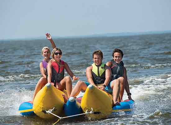 North Beach banana boat rental