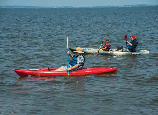 North Beach kayak rentals