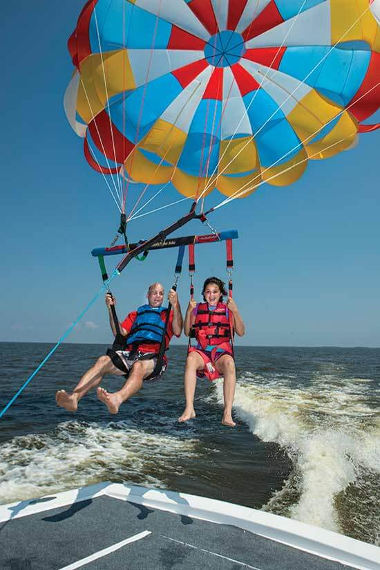 North Beach Parasail