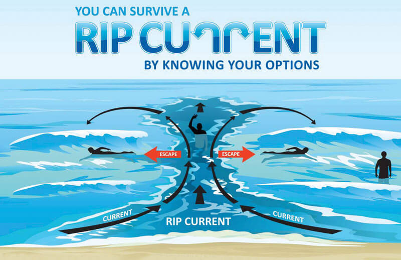 beach safety rip currents